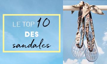 Top 10 sandales, sandales Dior
