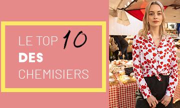 Top 10 Chemisiers