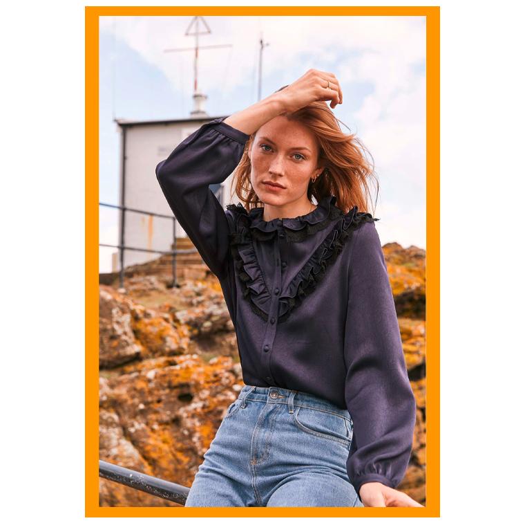La chemise en velours milleraies de Balzac Paris