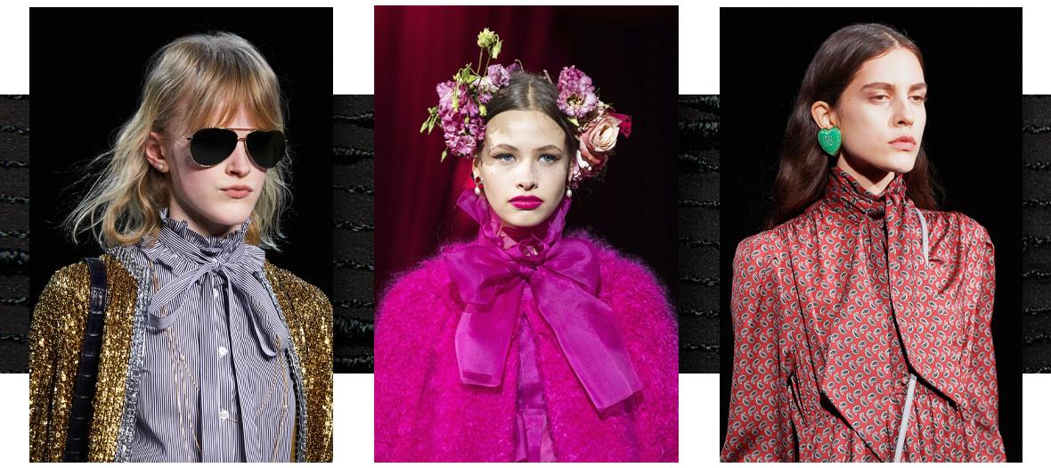 Lavalières Celine, Dolce et Gabbana et Balenciaga