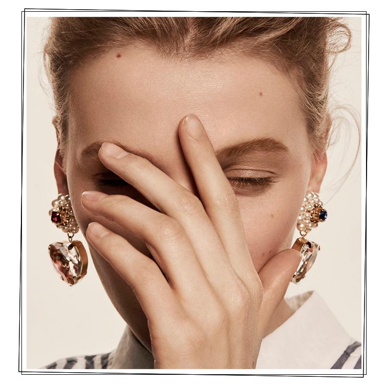Les boucles d'oreilles à clips Pretty Kamasutra de Chabaux
