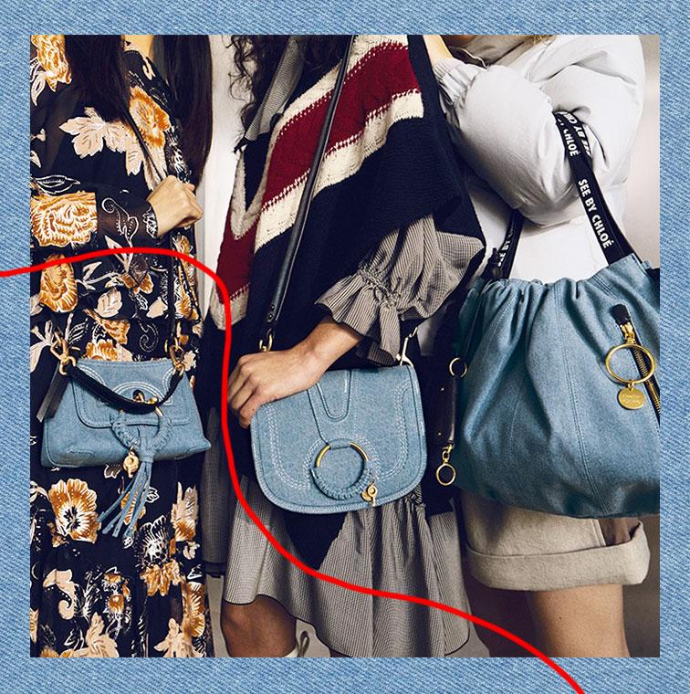 Les Sac porté épaule Joan, sac à dos Joy Rider,  sac porté épaule Hana de See by Chloé