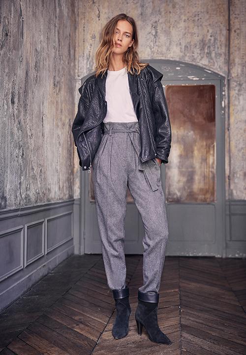 Le Pantalon Carotte Claude de Ba&sh à 190 €