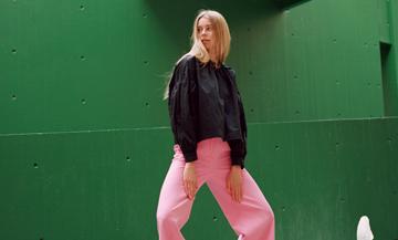 Les pantalons les plus tendances du moment, pantalon rose