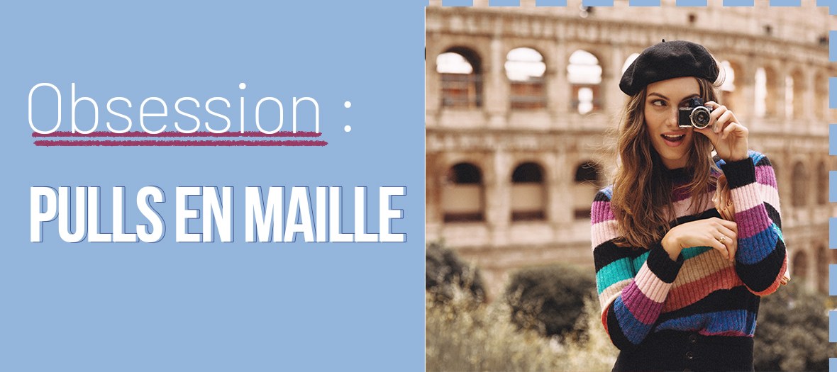 Pulls Maille Automne 2019