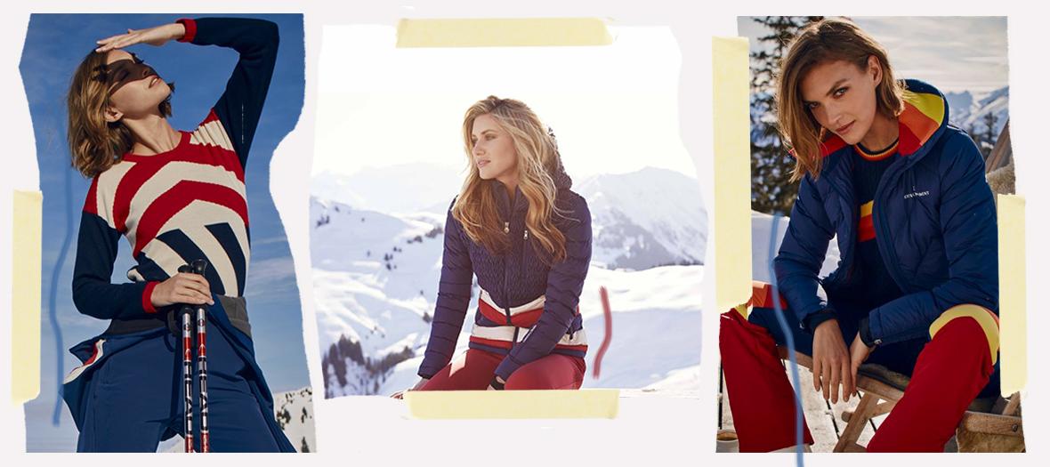 Camille Charrière, Chiara Ferragni et toute la clique des it-girls sexy à  la montagne ne dévalent plus les pistes sans leur attirail Perfect Moment. 5558b91c97c