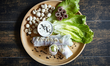 Recette Spring Rolls Pastrami Truffe