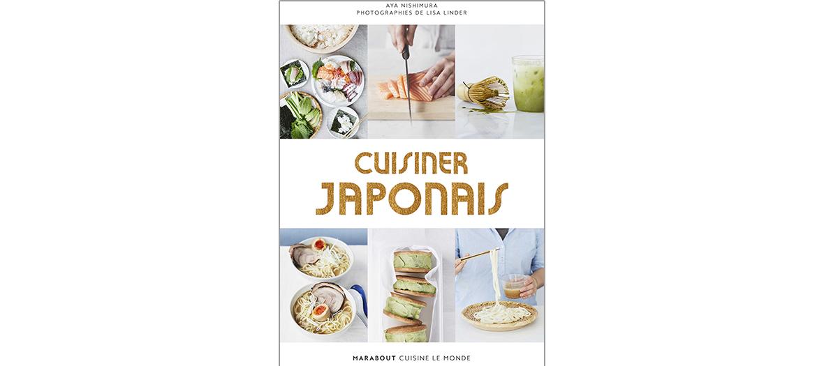 Livre de recettes de Aya Nishimura, éditions Marabout
