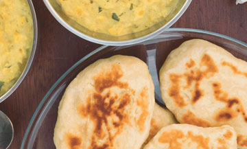 Yummy: naans!