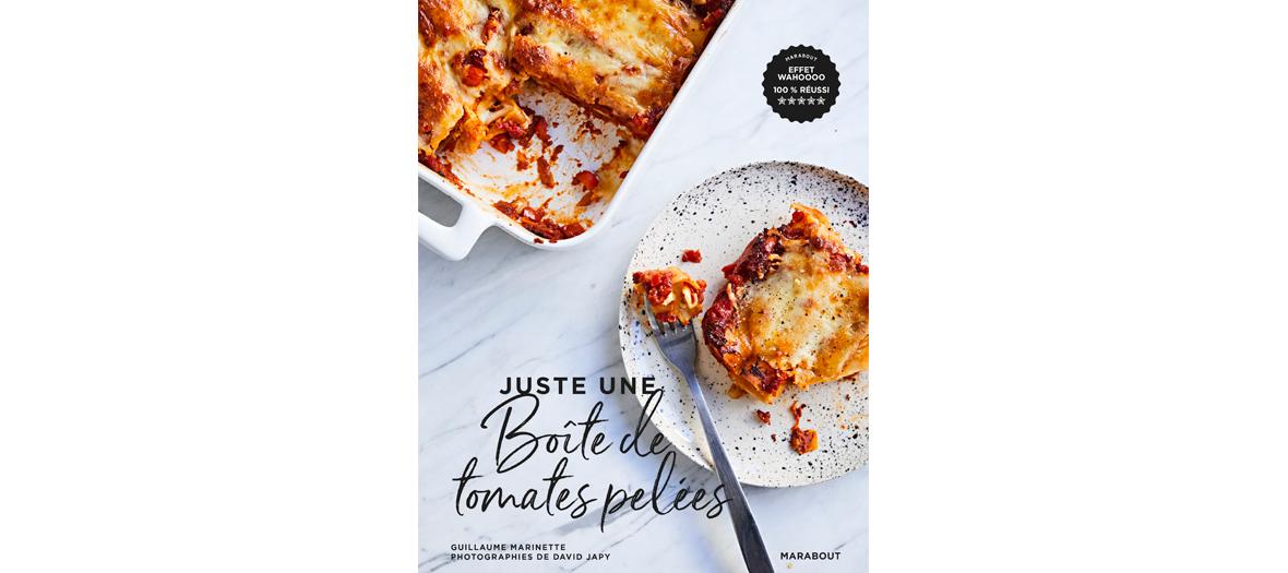 """couverture du livre """"Juste une boite de tomate pelées de Guillaume Marinette"""