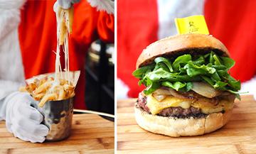 Connaissez-vous le burger de Noël à la truffe ?