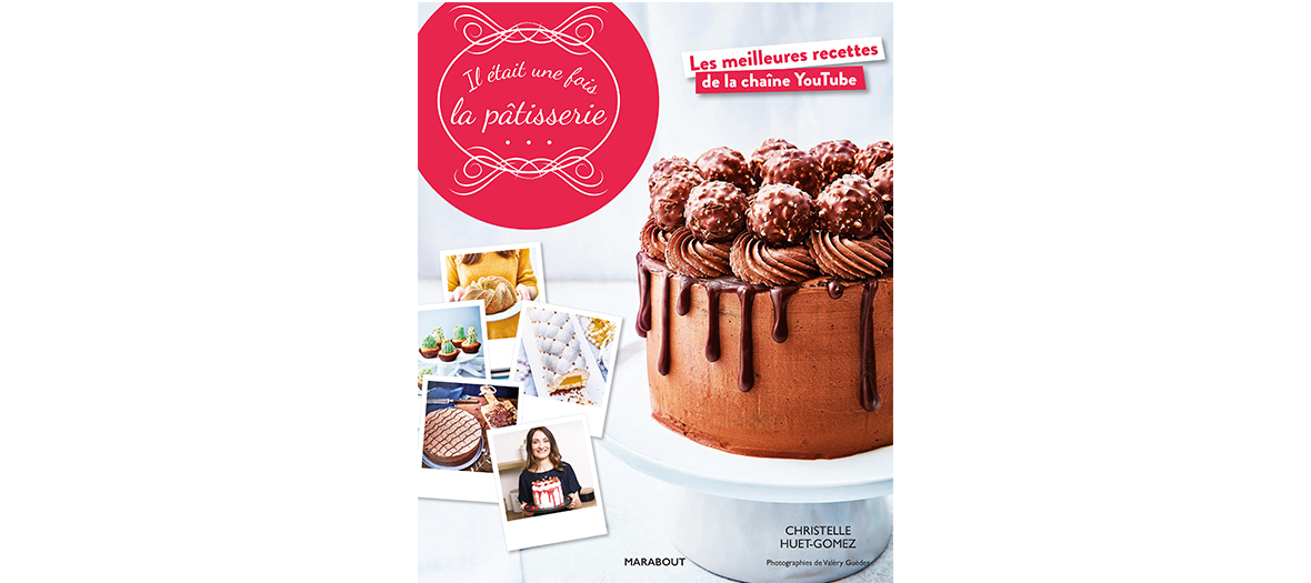 Livres de recettes de Christelle Huet-Gomez, editions Marabout