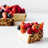Recette de génoise en tarte aux fruits rouges