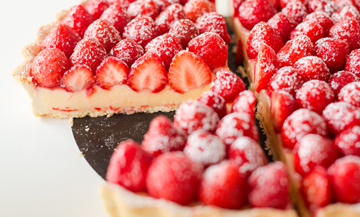 The unbelivable tart with gariguette strawberries