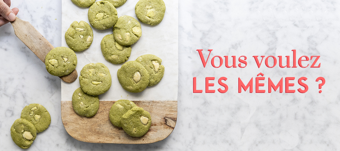 Recette Cookie Au The Matcha