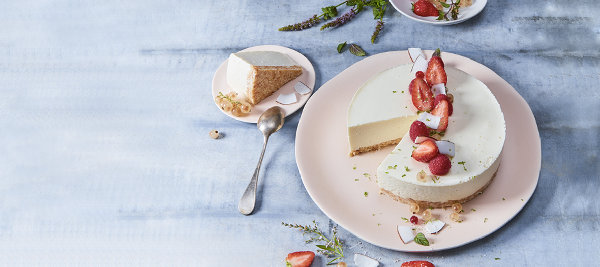 Recette Cheesecake Au Lait De Coco