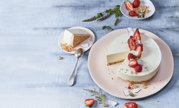 Le meilleur cheesecake du printemps