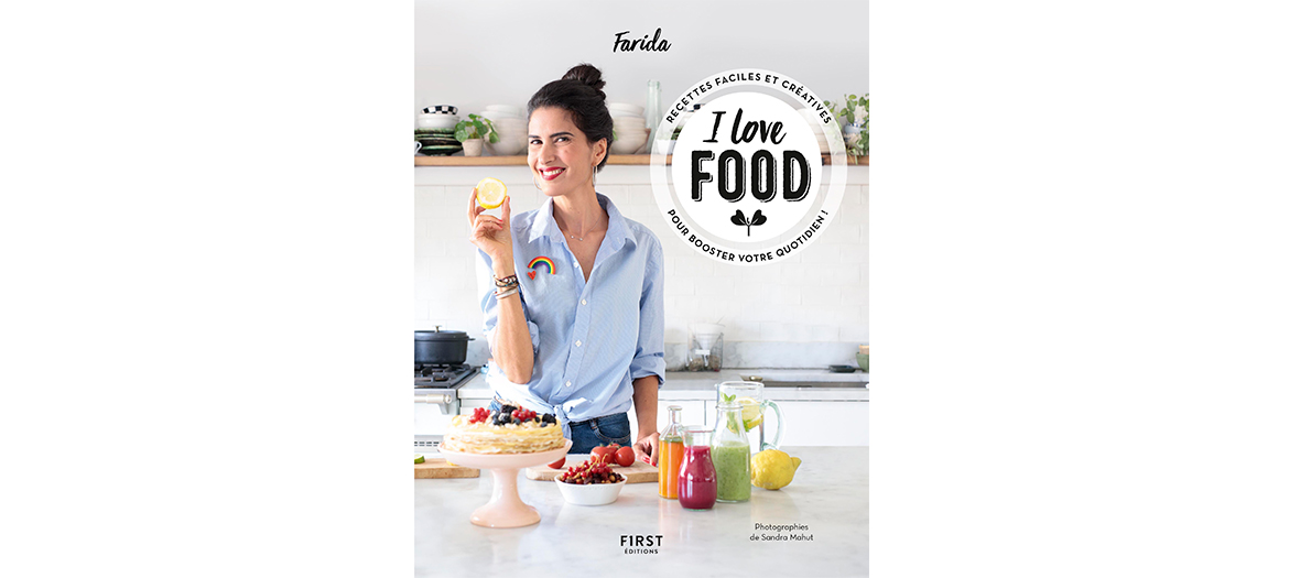 Livre de recette de Farida éditions First