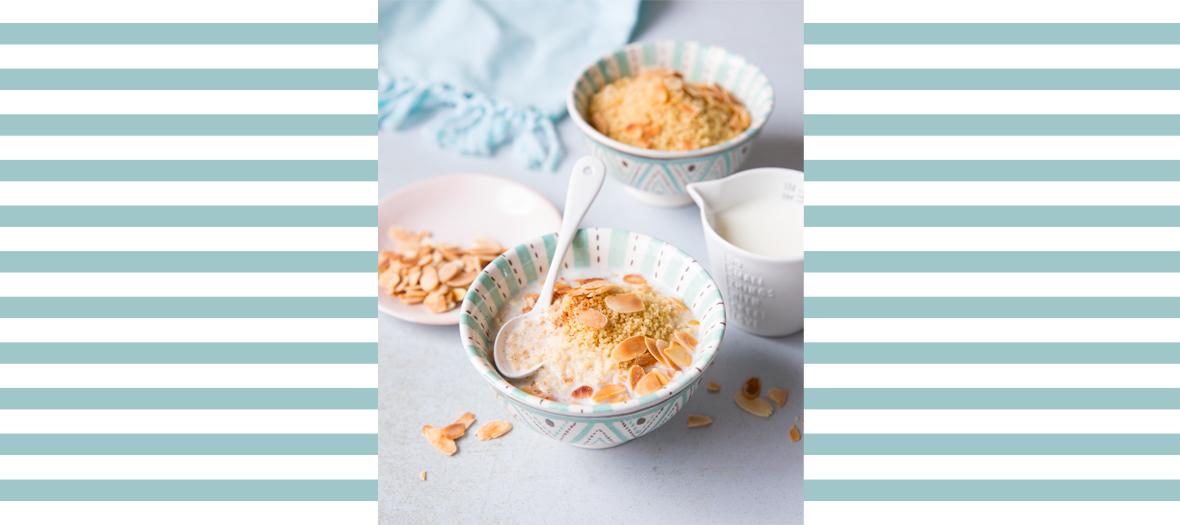 Recette couscous aux amandes grillées et à la cannelle
