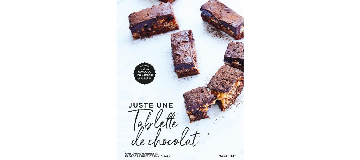 Livre de recette de Guillaume Marinette, éditions Marabout