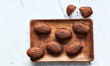 Miam : des madeleines au chocolat