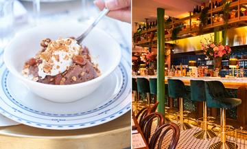 La mousse au chocolat de la Brasserie Bellanger