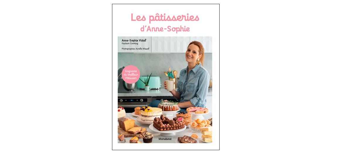 Livre de recettes d-Anne-Sophie Vidal, éditions Marabout