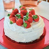 Recette gâteau suédois aux fraises, crème chantilly et vanille