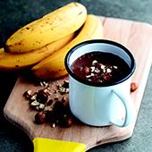 Recette de glaces véganes à la banane et au cacao