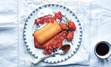 Des friands aux amandes et à la vanille