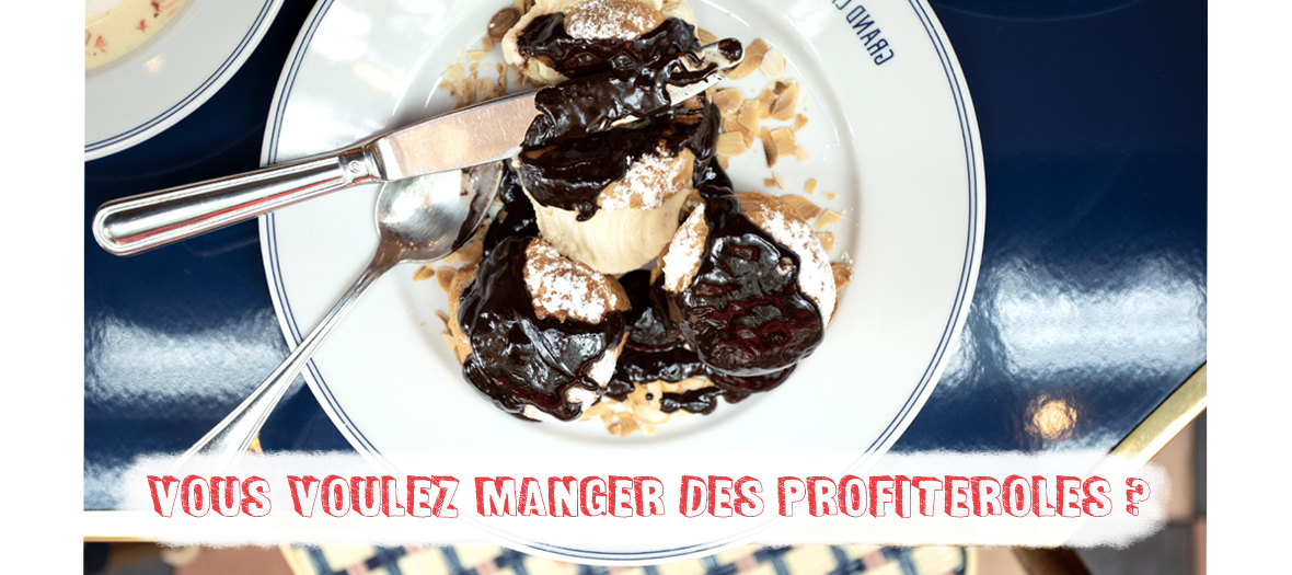 Recette Profiteroles Grand Cafe Capucines