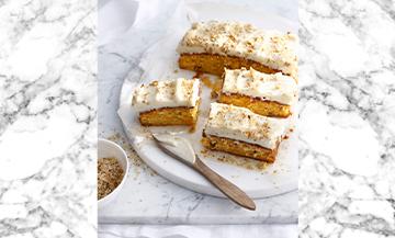 Le cake des fans de carotte