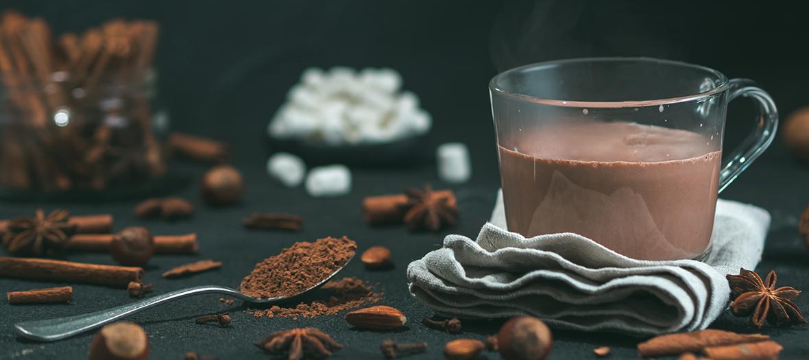 Recette chocolat chaud au lait de chèvre