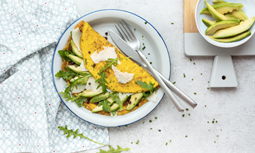Recette Omelette A L Avocat