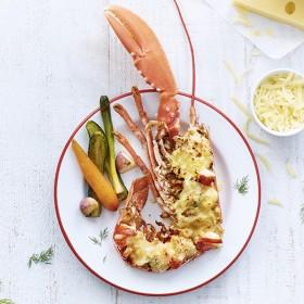 Recette homard gratiné