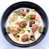 Recette de thon mariné à la crème de café du restaurant Itacoa