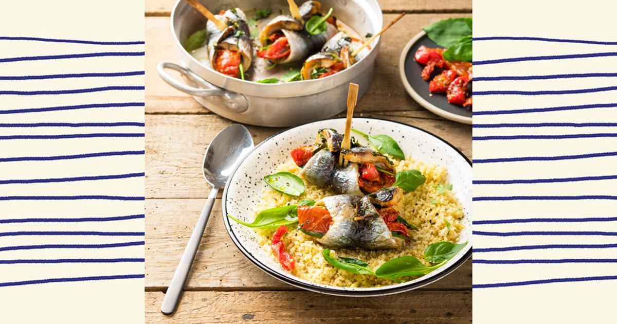 recette de filets de sardines farcis aux tomates confites. Black Bedroom Furniture Sets. Home Design Ideas