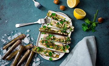 Couteaux : une recette bistronomique furieusement facile à réaliser