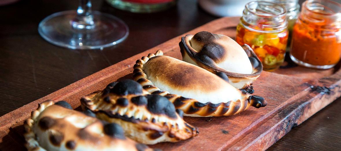 Les Empanadas du chef du restaurant El Santa Evita, Gonzalo Adlerete Pagés