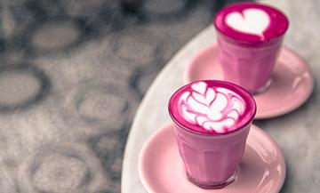 Recette Pink Latte Betterave