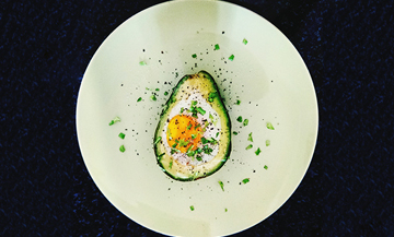 Egg Baked Avocado