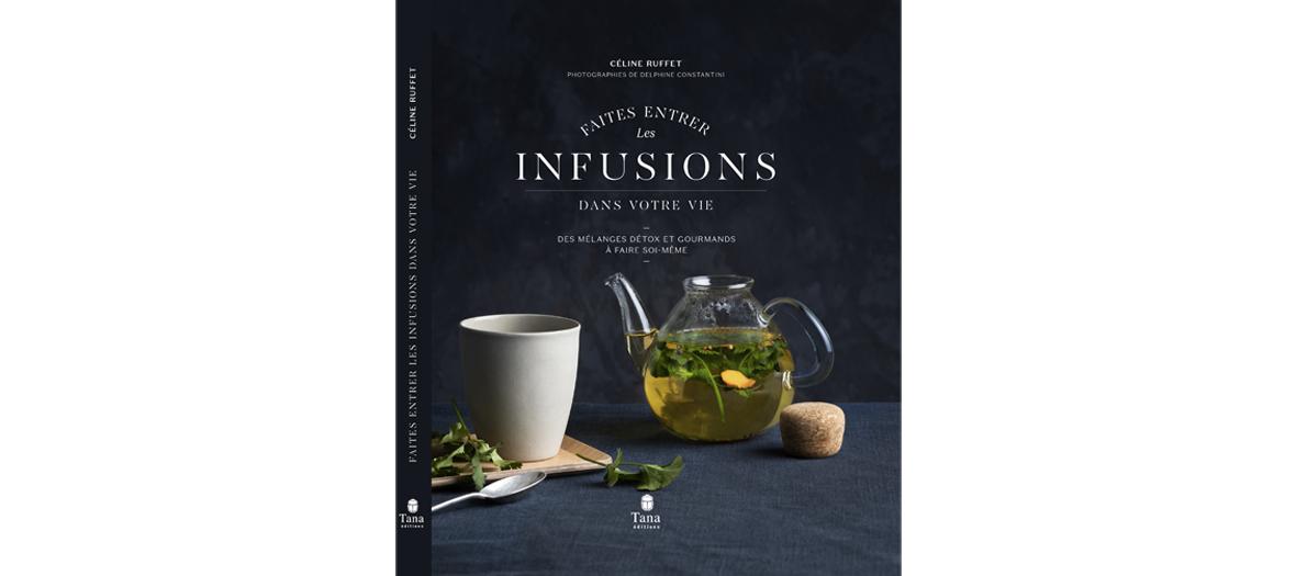Livre de recettes de Céline Ruffet, éditions Tana