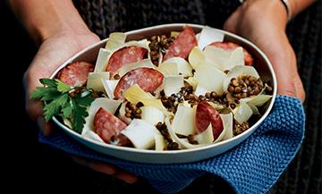 Une petite salade qui va plaire aux mecs