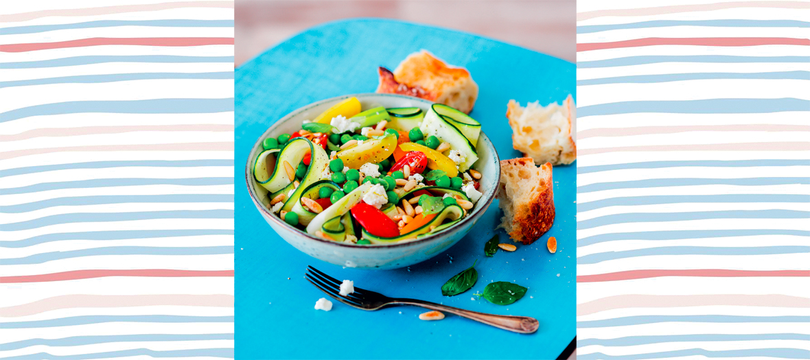 Recette Salade De Printemps