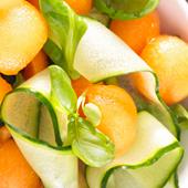 Recette Salade Melon Courgette