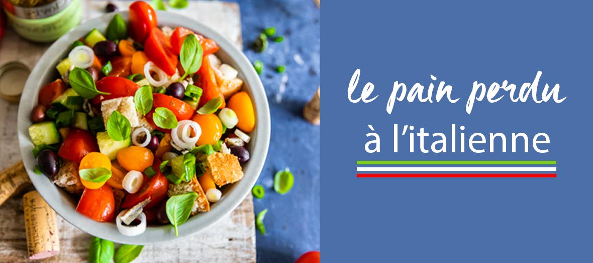 Salade Toscane Au Pain Rassis
