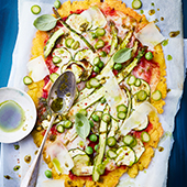 Recette pizza veggie et sans gluten