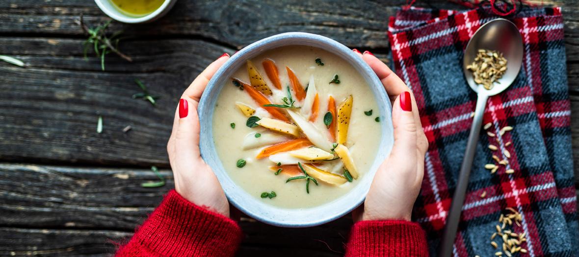 Soupe Haricots Blancs