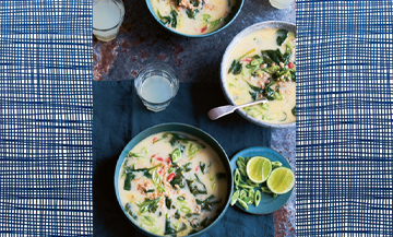 Comment se concocter une bonne soupe au lait de coco ?