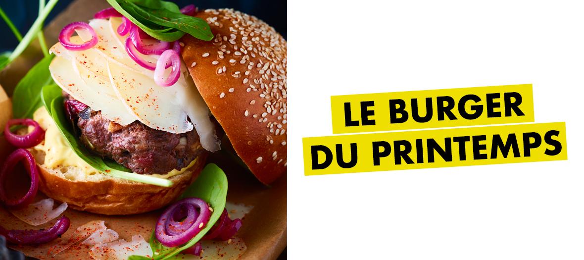 Recette Burger Canard